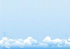 bubblatvål stock illustrationer