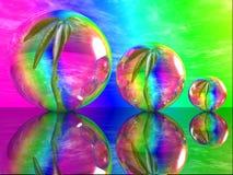 bubblaväxt vektor illustrationer