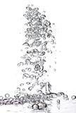 bubblavatten Royaltyfri Bild