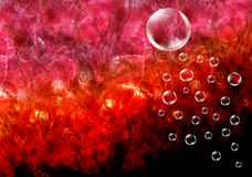 Bubble. Colored background with the bubble Stock Image