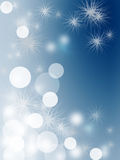 Bubble on abstract blue sky background Stock Photo