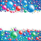 Bubble background. Illustration for your design Royalty Free Stock Photo