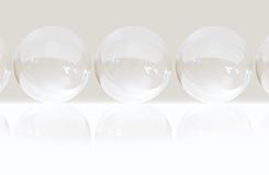 Bubble background Stock Photo