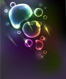 Bubble background Stock Photo