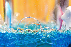 Bubble background Stock Photos