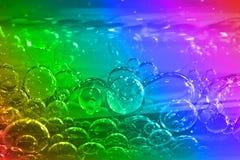 Bubble background Stock Image