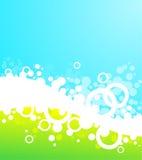 Bubble background vector illustration