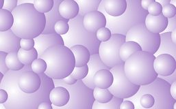 Bubble background Stock Image