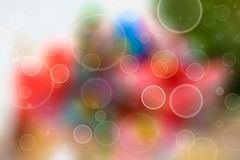 Bubble background. Abstract bubble circles on colorful background Royalty Free Stock Images