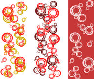 Bubble background set. Vector set with pattern bubble Stock Photography