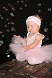 Bubble ballerina Royalty Free Stock Photo