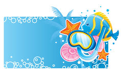 Bubble banner Royalty Free Stock Photography