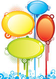 Bubble banners Stock Photography