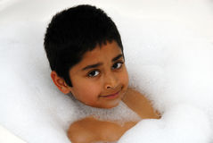 Bubble Bath Stock Photos