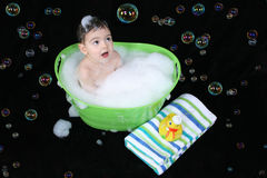 Bubble Bath Stock Image