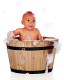 Bubble Bath Baby stock photography