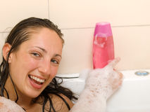 Bubble bath Royalty Free Stock Images