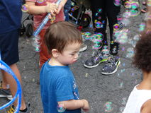 Bubble Battle NYC 2016 95 Royalty Free Stock Photo