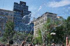Bubble Battle NYC 2015 Part 2 67 Royalty Free Stock Photo