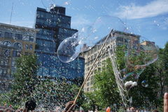 Bubble Battle NYC 2015 Part 2 66 Royalty Free Stock Image
