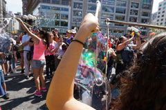Bubble Battle NYC 2015 Part 2 56 Stock Photo