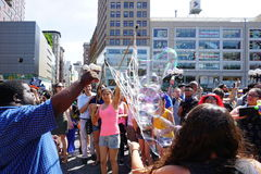 Bubble Battle NYC 2015 Part 2 55 Stock Image