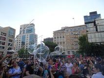 Bubble Battle NYC 2016 Part 3 5 Royalty Free Stock Photos