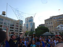 Bubble Battle NYC 2016 Part 3 6 Royalty Free Stock Image