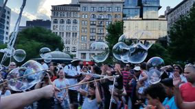 Bubble Battle NYC 2016 Part 3 14 Royalty Free Stock Photography