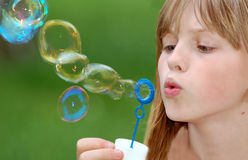 Bubble blower Royalty Free Stock Photography