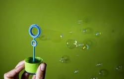 Bubble blower Stock Photos