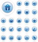 Bubble blue Stock Image