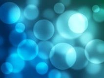 Bubble bokeh background Royalty Free Stock Photos
