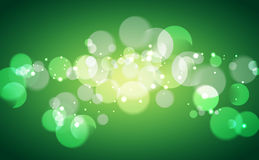 Bubble and bokeh  background Stock Images
