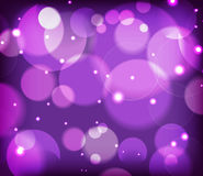 Bubble and bokeh  background Royalty Free Stock Photo