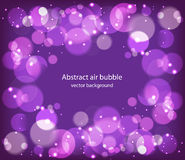 Bubble and bokeh  background Royalty Free Stock Image
