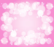 Bubble and bokeh  background Royalty Free Stock Photography