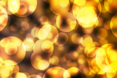 Bubble bokeh blurred colorful background Stock Photography