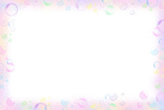 Bubble Border Royalty Free Stock Images