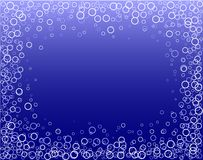 Bubble border Stock Photo