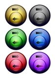 Bubble buttons Stock Photo