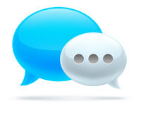 Bubble chat Royalty Free Stock Image
