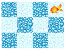 Bubble checkerboard Royalty Free Stock Photography