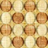 Bubble decorative pattern - papyrus scructure Royalty Free Stock Image