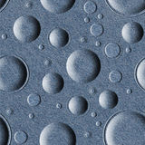 Bubble decorative pattern - seamless pattern - Blue denim Royalty Free Stock Images