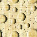Bubble decorative pattern - seamless pattern - papyrus surface Royalty Free Stock Images