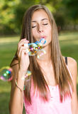 Bubble dreams. Royalty Free Stock Photo