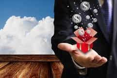 Bubble economy concept Stock Photo