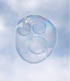 Bubble Face Royalty Free Stock Photos