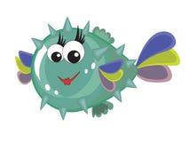 Bubble fish Stock Photo